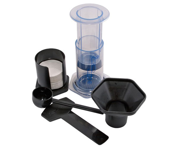 The AeroPress coffee maker. ($30)
