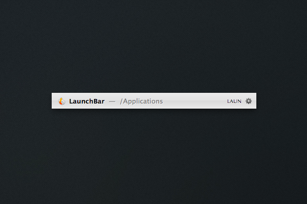 launchbar-application-launcher