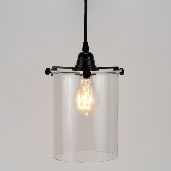 Glass cylinder pendant lamp tools and toys cylinder lamp aloadofball Image collections