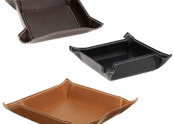 leather-trays