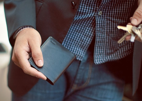 Bellroy'sNote Sleeve wallet. ($90)