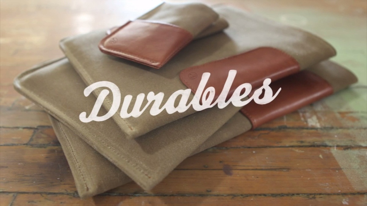 "The ""Durables"" collection from DODOcase. (Prices vary, approx. $50–$80.)"