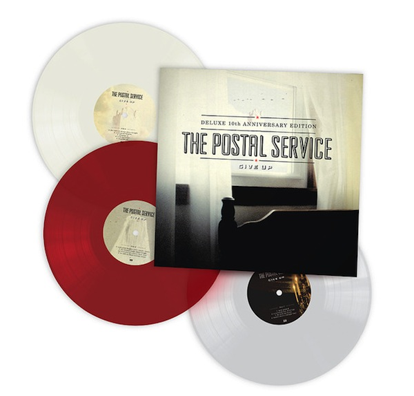 The Postal Service S Give Up Deluxe 10th Anniversary