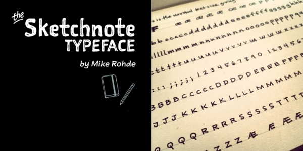 sketchnote-typeface