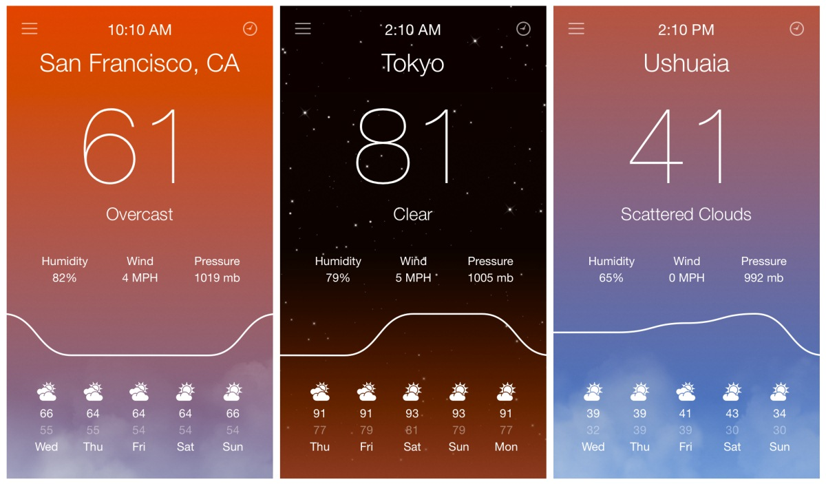 design  apps  weather