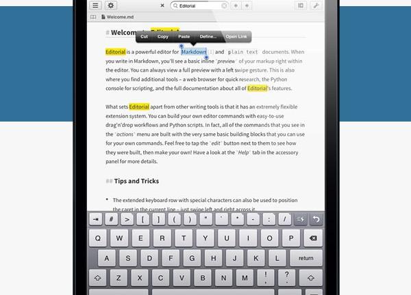 editorial-app