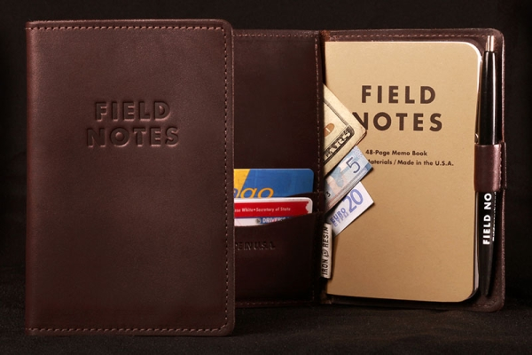 "The Field Notes ""Everyday Carry"" Memo Book Cover. ($86)"