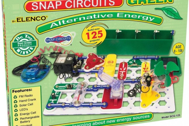 Snap Circuits alternative energy kit. ($46)