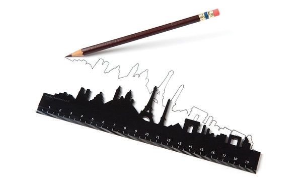 The Skyline ruler. ($9 for each city)