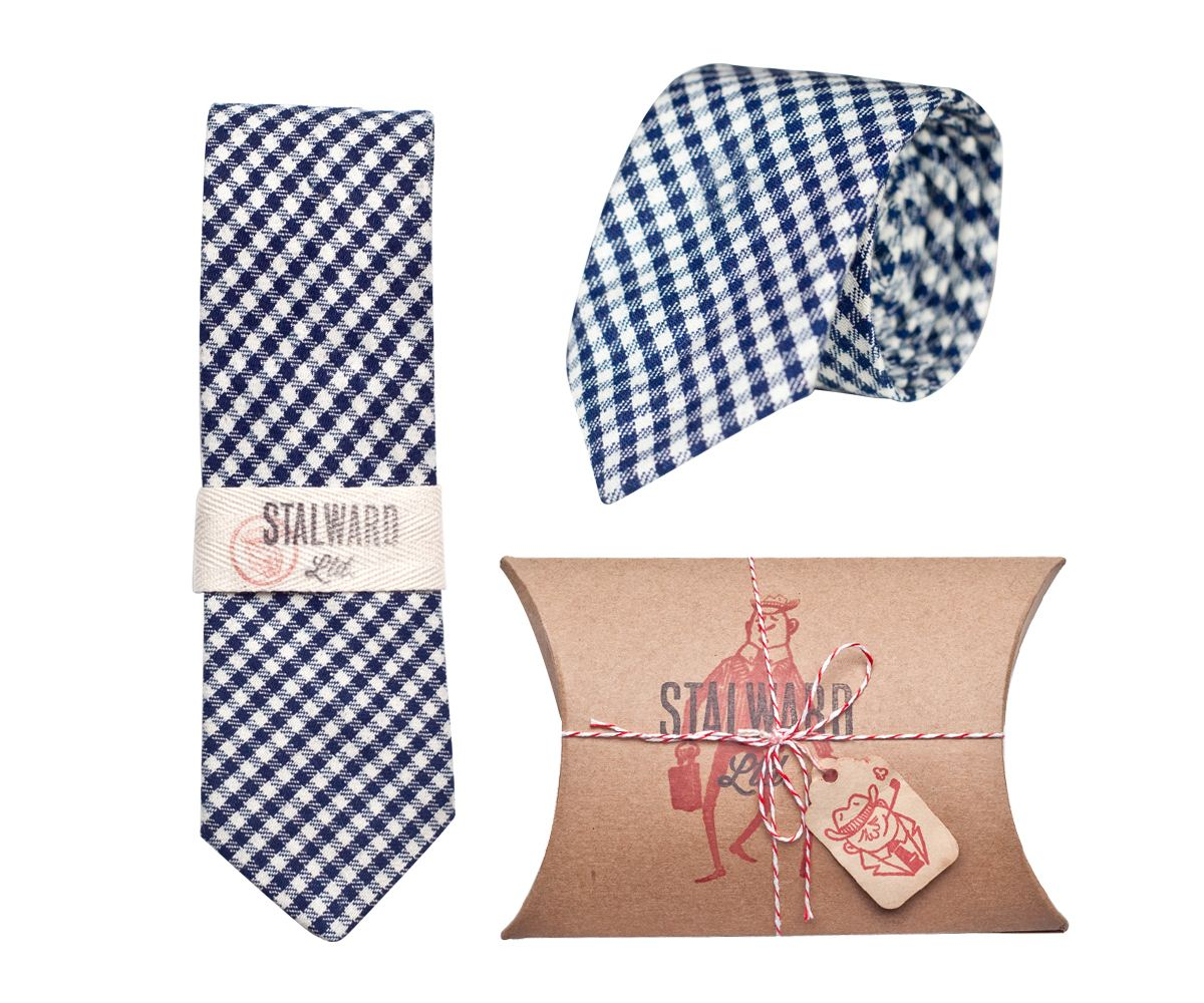 heavy-navy-gingham-tie