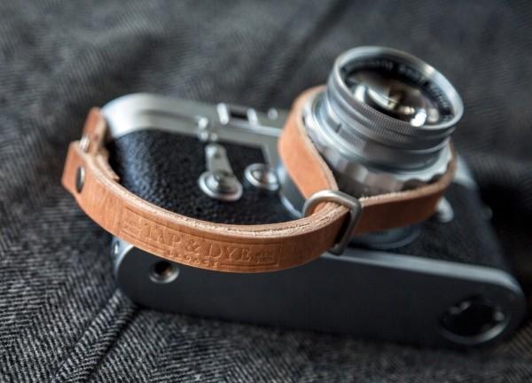 Tap & Dye's Camera Wrist Strap. ($48-58)