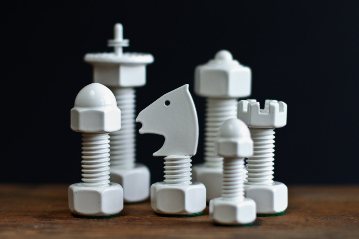 The Tool Chess chess set. ($249)