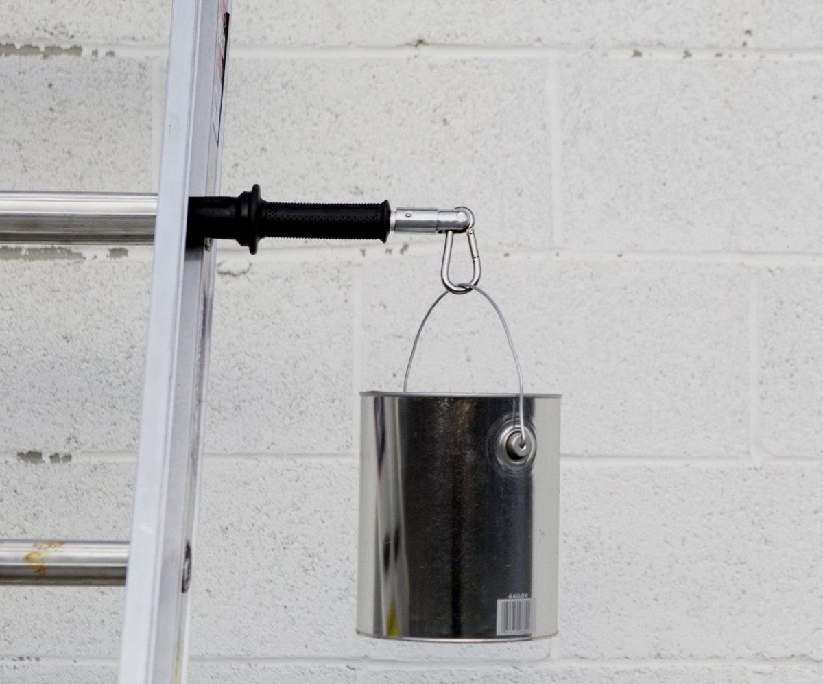 The LadderLimb tool-holding ladder extension. ($20)