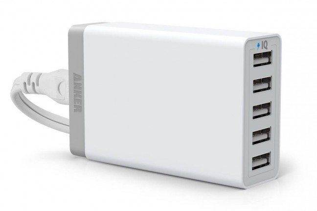Anker 5-Port USB Charger. ($26)