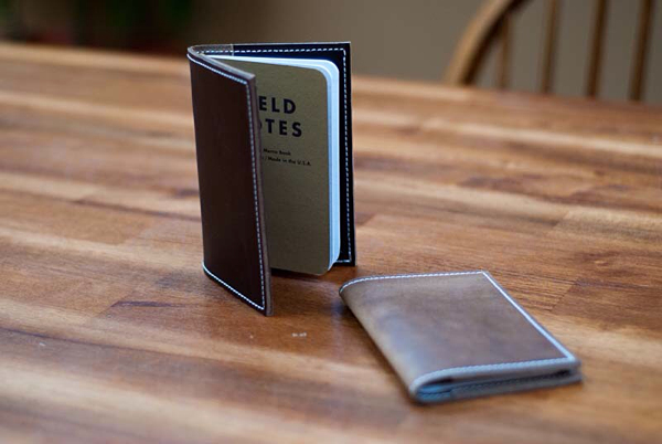Hellbrand Leatherworks Field Notes cover. ($45)