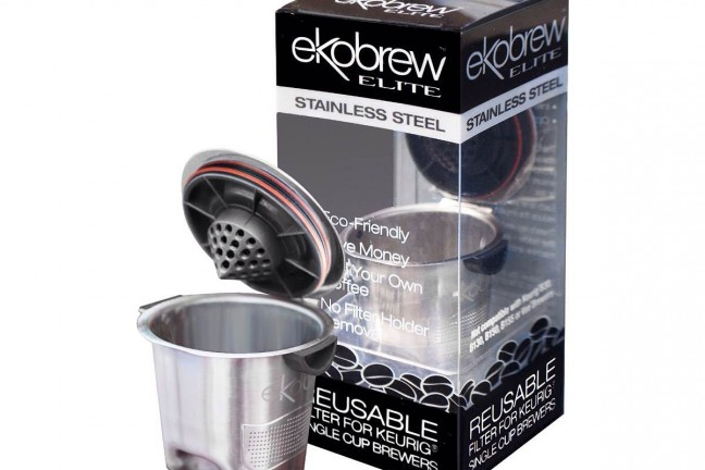 The Ekobrew refillable K-Cup. ($14)