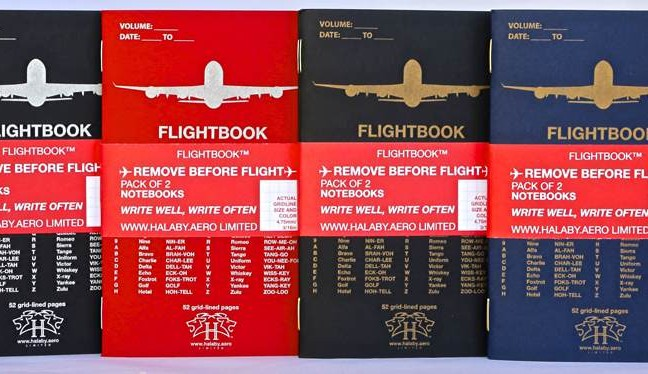 flightbook-notebooks