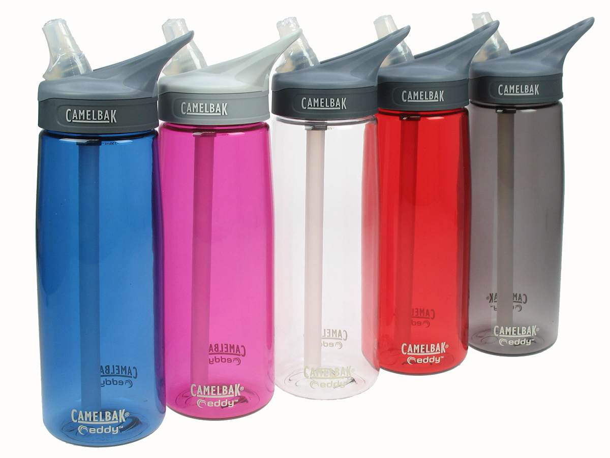 Camelbak's Eddy bottle. (prices vary by color, but most single bottles are $11–$15)