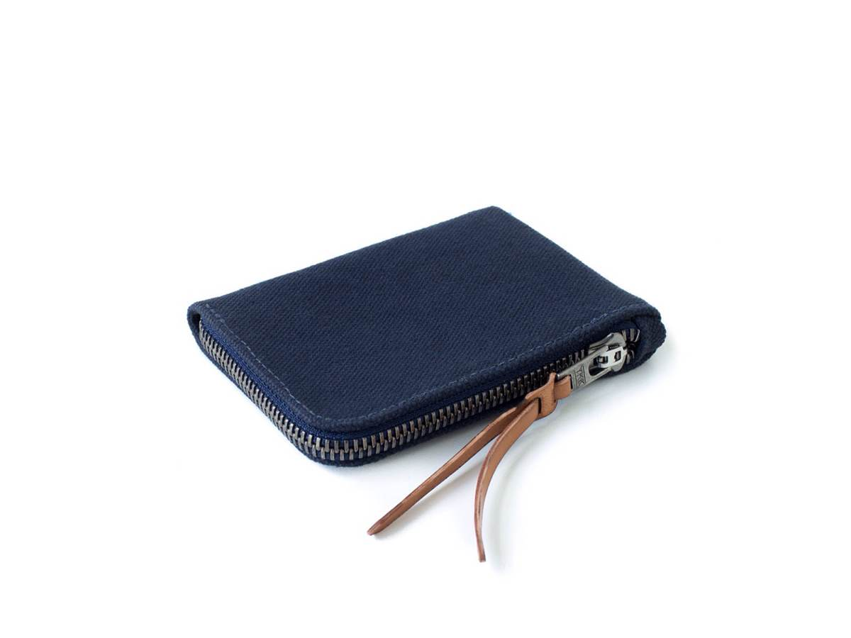MAKR's Canvas Zip Slim wallet. ($75)