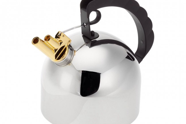 Richard Sapper's Alessi 9091 melodic kettle. ($225)