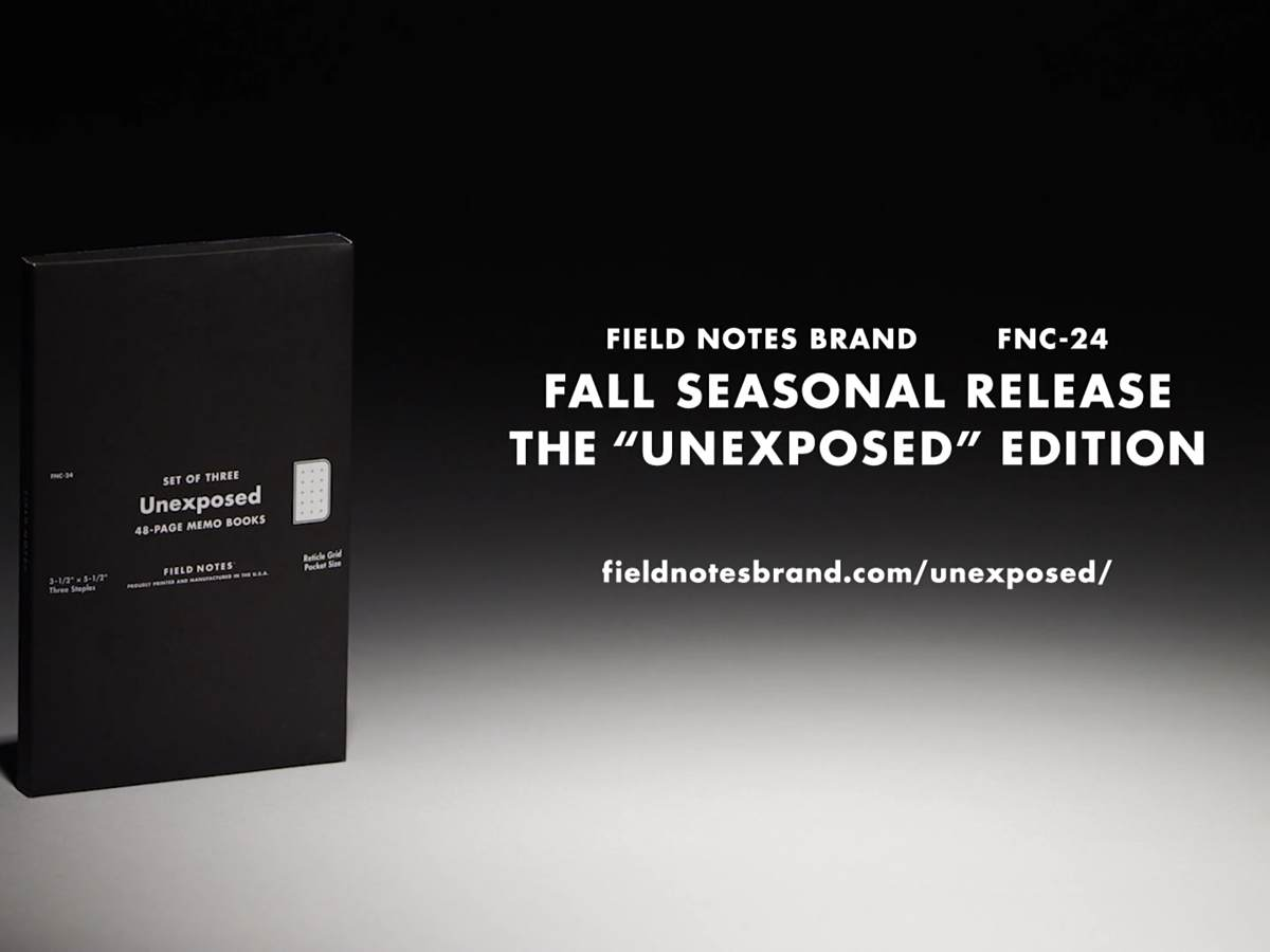 field-notes-unexposed-edition