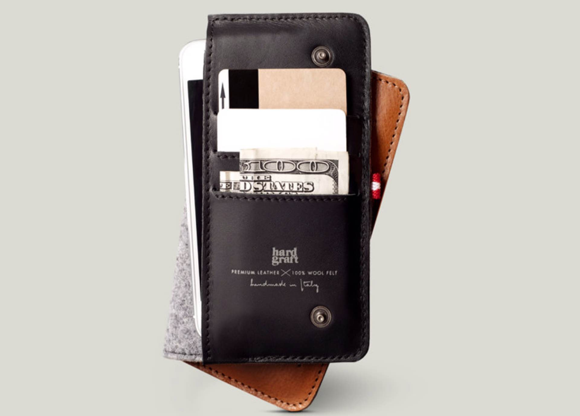 Hard Graft Mighty Phone Fold Wallet for iPhone 6
