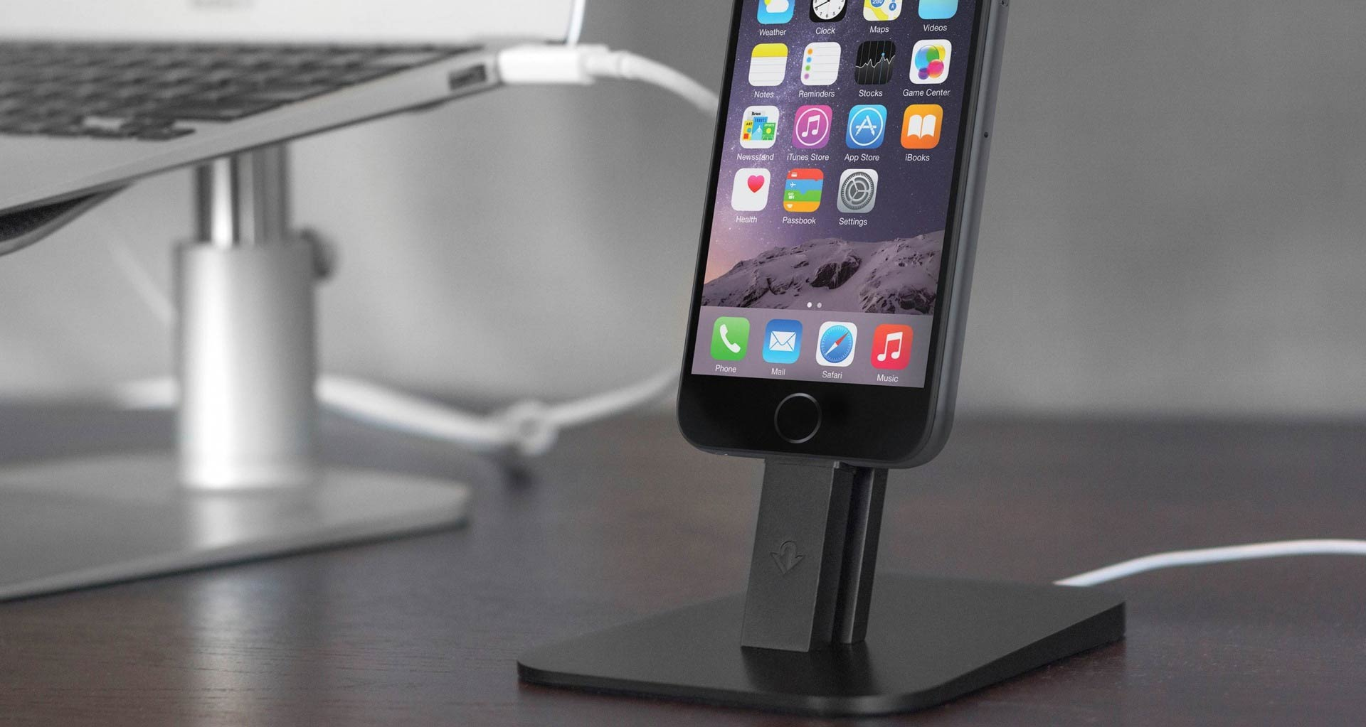 HiRise Dock Stand for iPhone 6 (and 6 Plus)