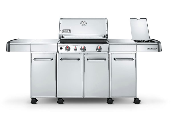 Gas grills are a great way to get started quick.