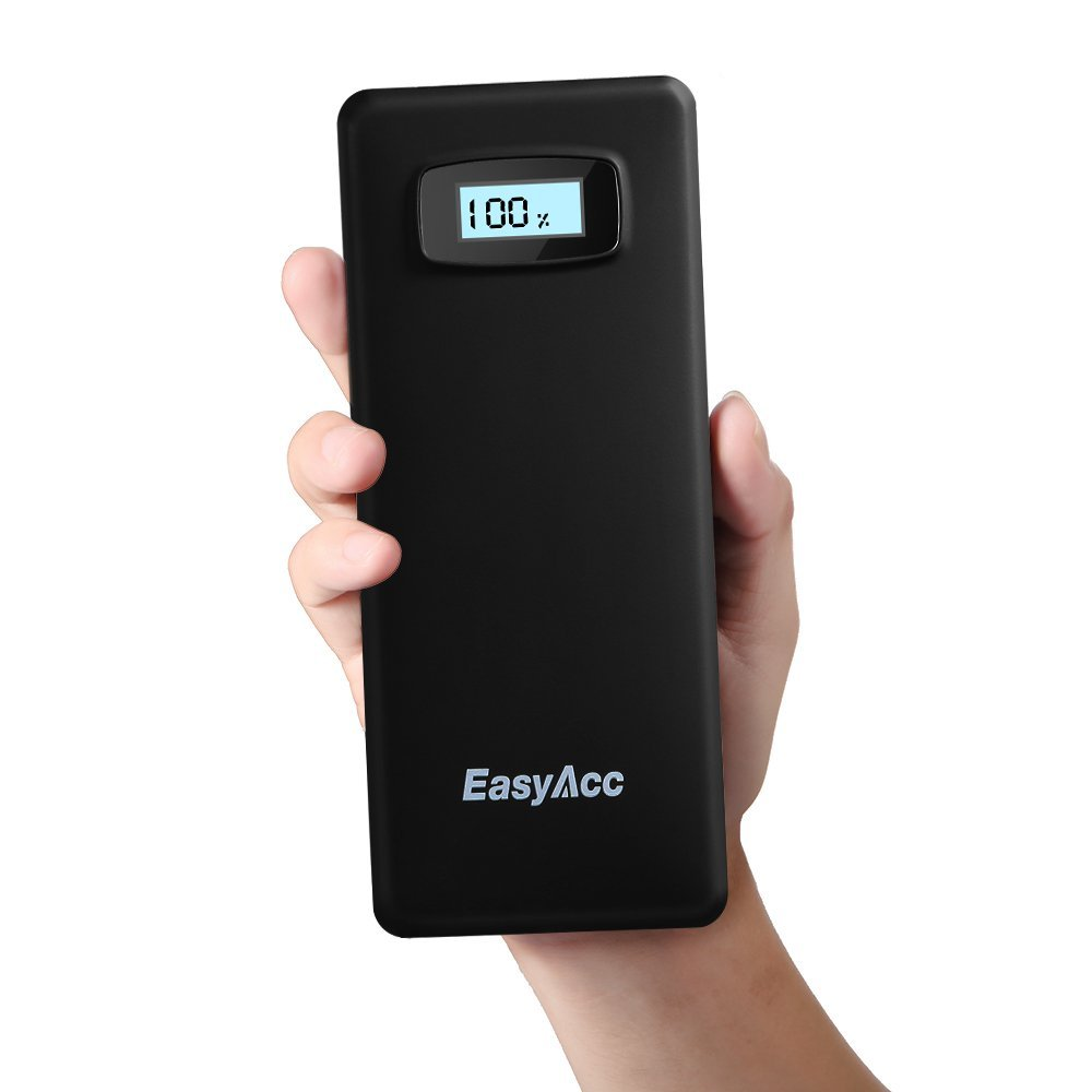 The EasyAcc Power Bank dual-USB portable battery. ($45)
