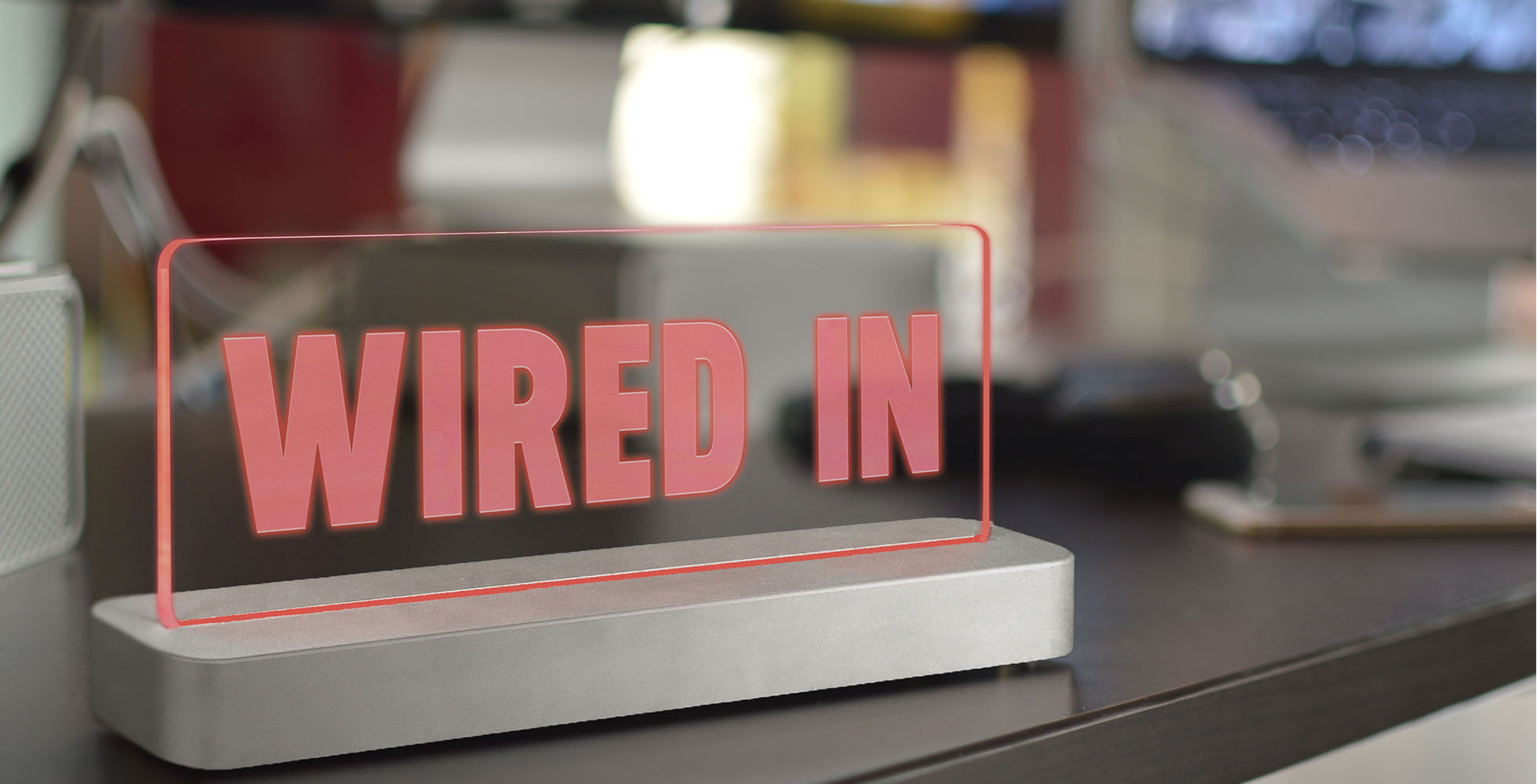 Wired In — A Beautiful Wireless LED \'Busy\' Sign for the Modern ...