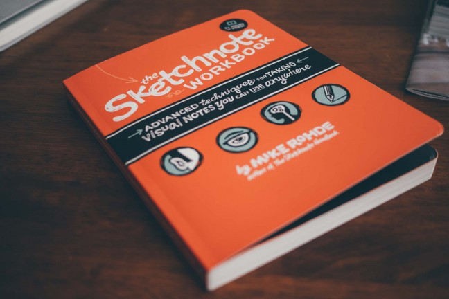 The Sketchnote Workbook Hero