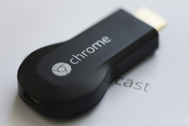The new [Chromecast](http://www.amazon.com/Google-Chromecast-Streaming-Media-Player/dp/B00DR0PDNE?tag=toolsandtoys-20) is an inexpensive way to stream content to a TV.
