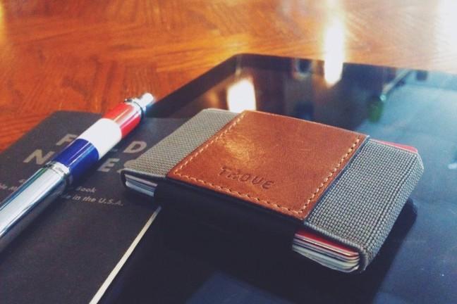 The TROVE wallet. ~$48–$56 USD