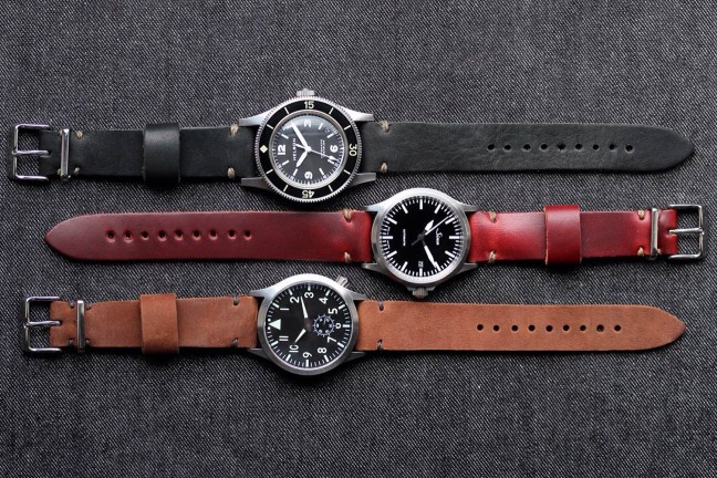 Worn & Wound's Model 2 Watch Straps. ($59)