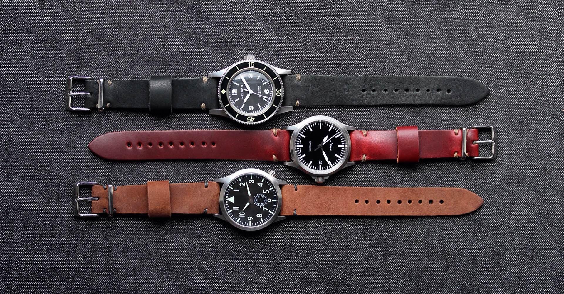Worn & Wound's Model 2 Watch Straps. ($59)