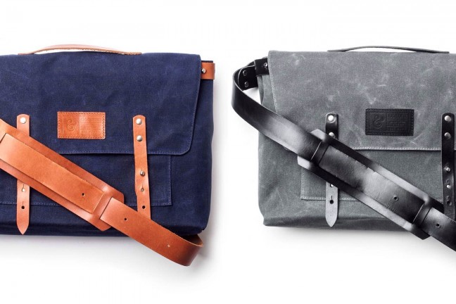 Ugmonk's waxed canvas messenger bag. ($235)