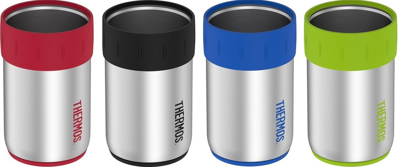 Keep your foot hot or cold for up to 10 hours with these [Thermos 12 oz Stainless Vacuum Can Insulators](https://www.amazon.com/Thermos-Stainless-Insulated-Insulator-Multicolor/dp/B06XJTYMGB?tag=toolstoysdeals-20).