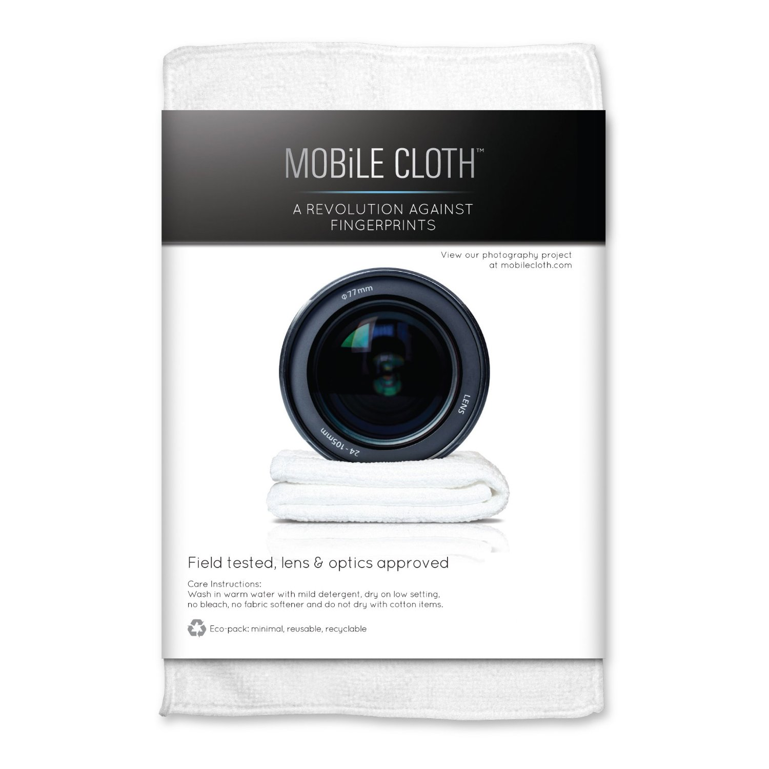 Mobile Cloth Lens Wipes ($9) Designed specifically for cleaning fingerprints and smudges off your lens.