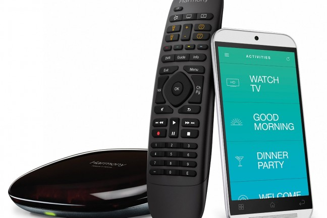 Control your TV from anywhere in the world with the [Logitech Harmony Companion](https://www.amazon.com/dp/B00N3RFC4G?tag=toolsandtoys-20) and smartphone app.