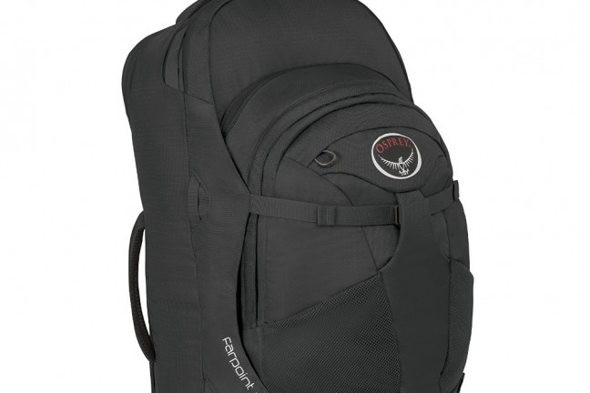 This [travel backpack from Osprey](https://www.amazon.com/Osprey-Farpoint-Travel-Backpack-Caribbean/dp/B014EBLREI?tag=toolsandtoys-20) is one of the very best you can buy.
