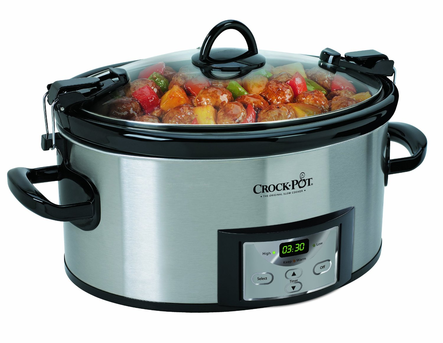 This [6-Quart Slow Cooker from Crock-Pot](https://www.amazon.com/dp/B004P2NG0K?tag=toolstoysdeals-20) is down to a great price.