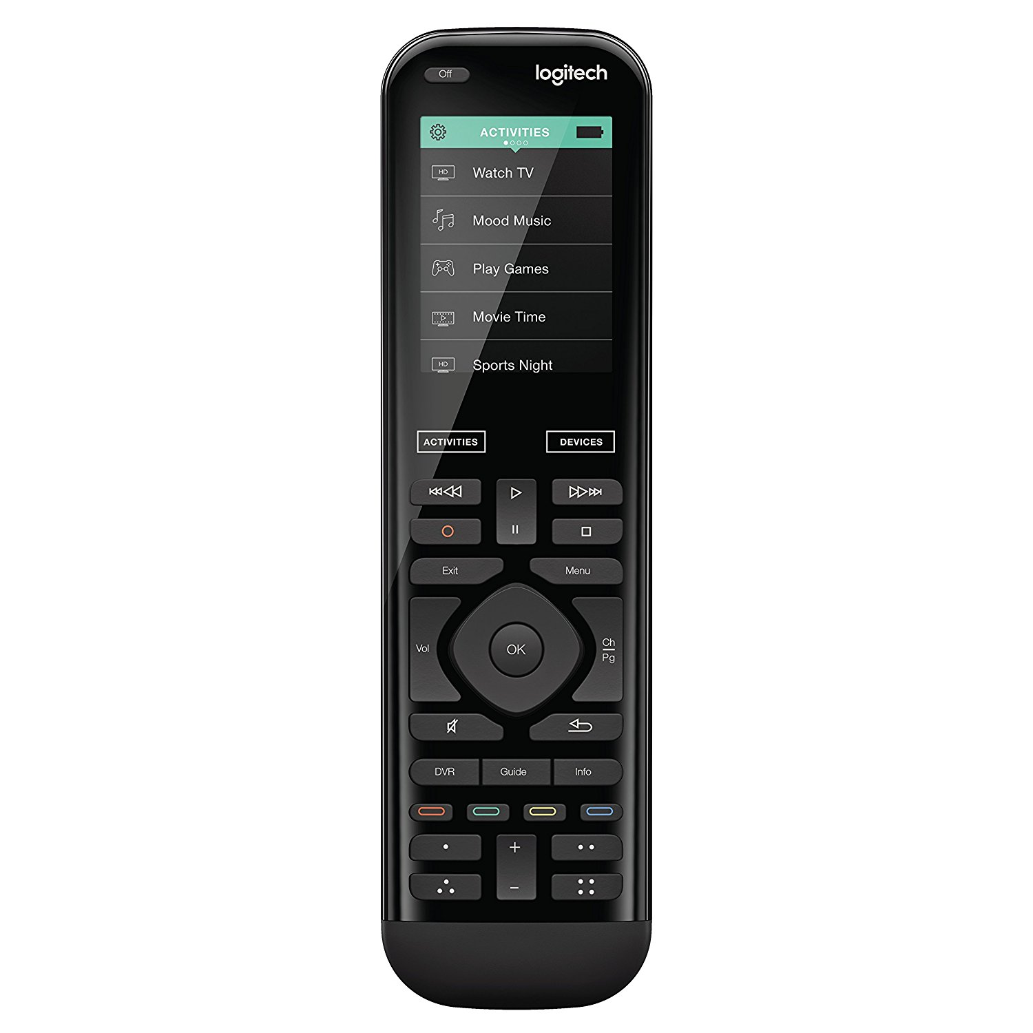 Use [Logitech's Harmony 950 Advanced Remote](https://www.amazon.com/Logitech-Advanced-Harmony-Control-915-000259/dp/B01H0GVCPI?tag=toolstoysdeals-20) to control over 270,000 different brands of devices and TVs.
