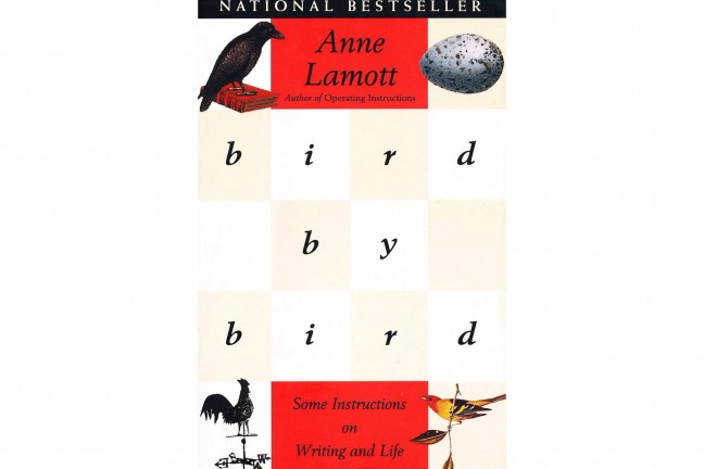 Bird by Bird: Some Instructions on Writing and Life by Anne Lamott.