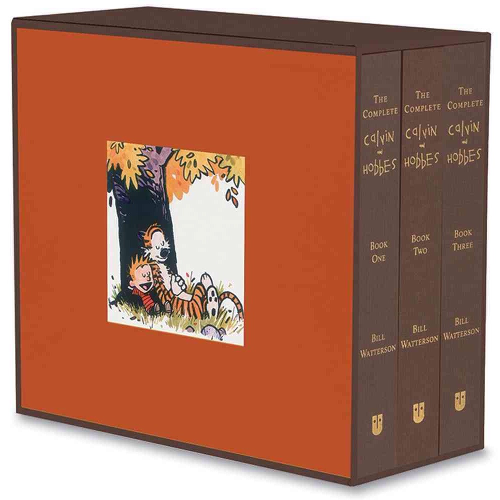 The Complete Calvin and Hobbes by Bill Watterson.