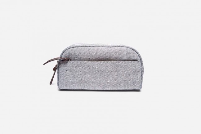 Everlane Reverse Denim Dopp Kit ($35)