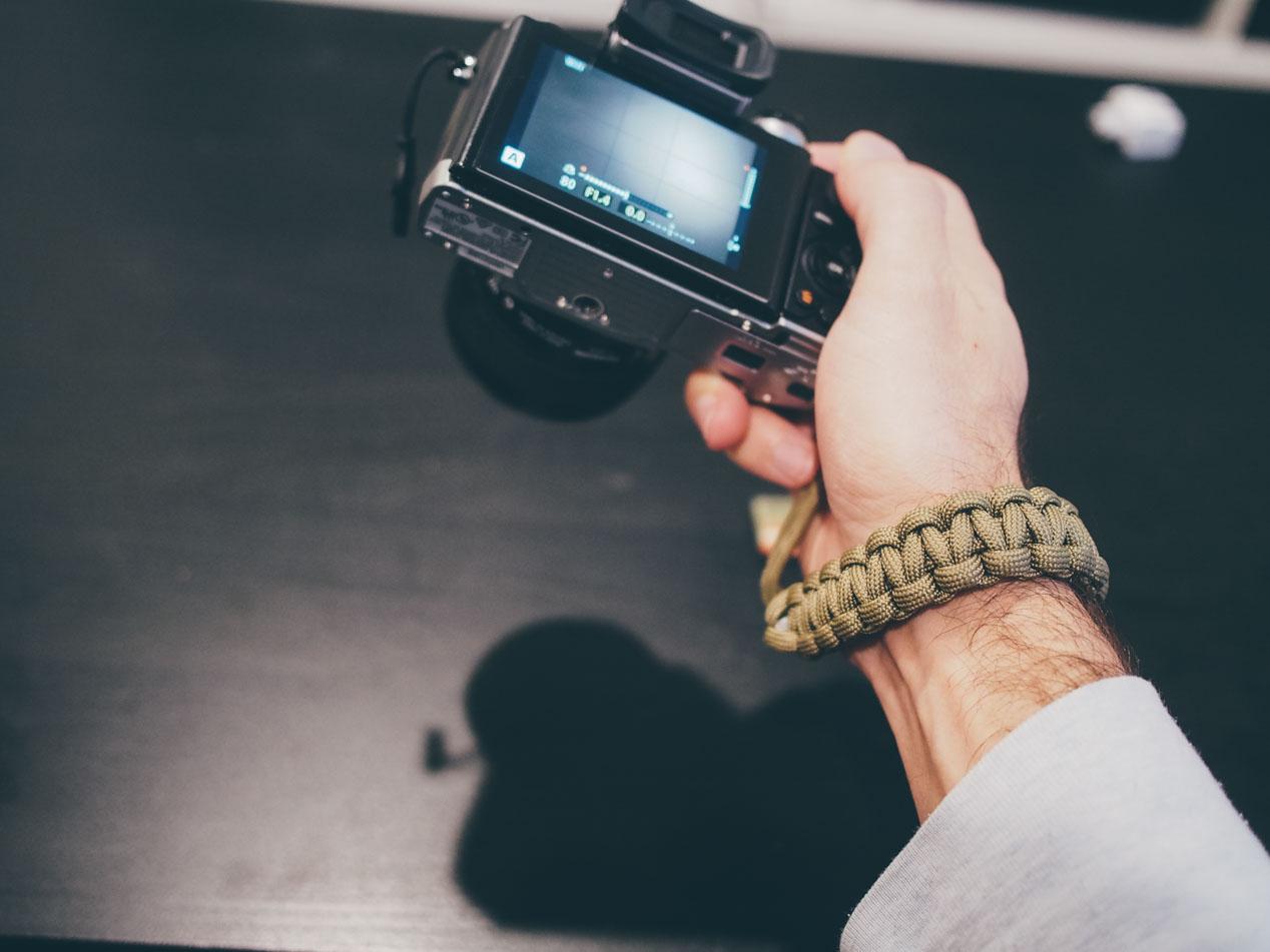 DSPTCH's Camera Wrist Strap. ($32)