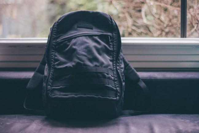 The GORUCK GR1 ruck sack. ($295)