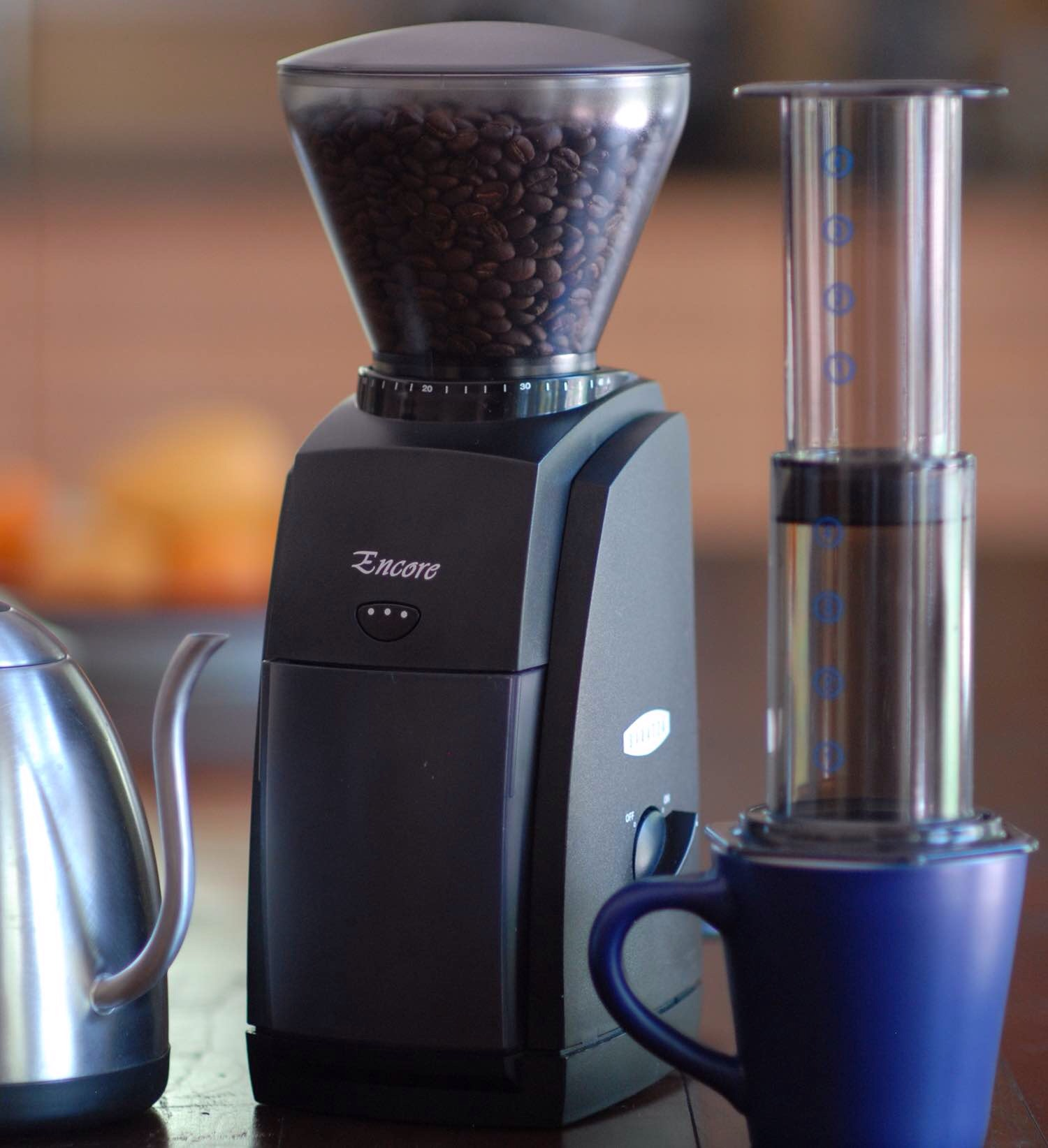 Baratza's Encore coffee grinder. ($129)