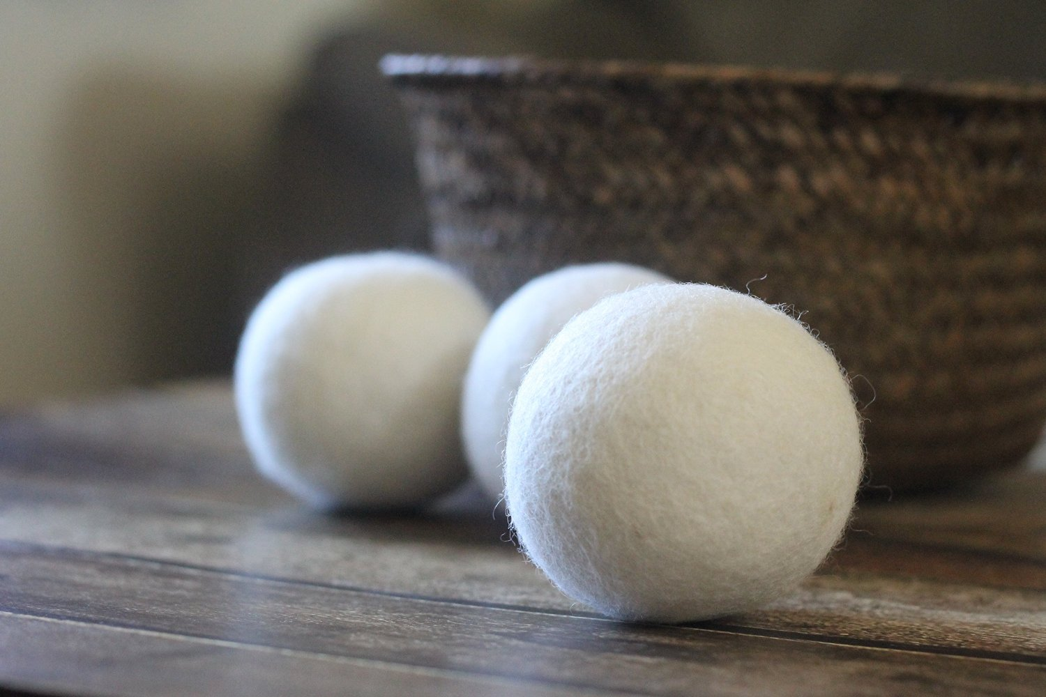 Smart Sheep's wool dryer balls. ($18)