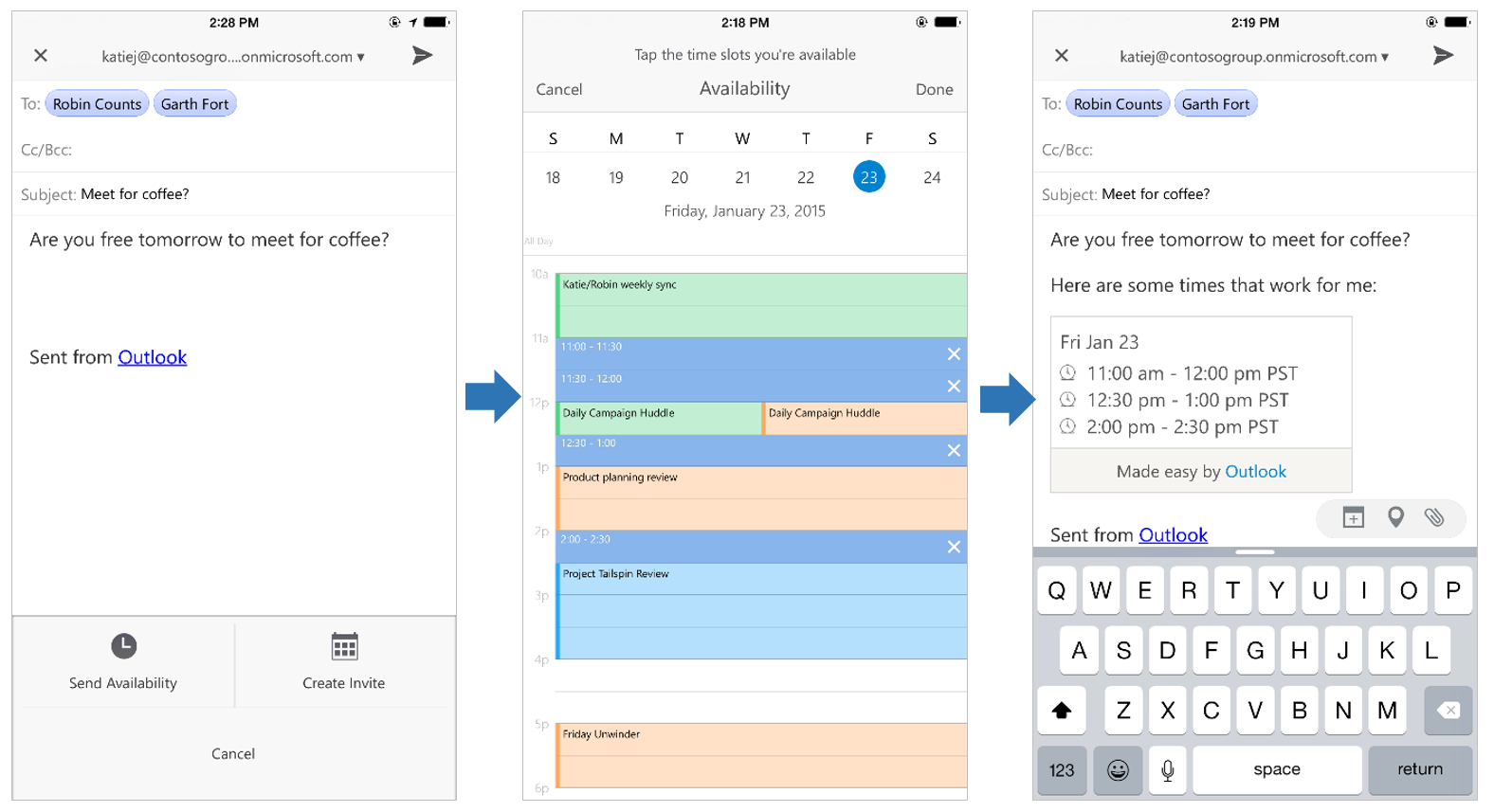 Outlook Calendar On Iphone >> Outlook For Ios Tools And Toys